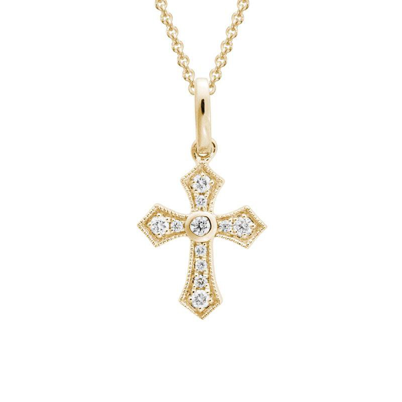 Wear-EVERY-Where Diamond Cross Necklace