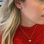 Gumuchian Worker Bee Diamond Necklace