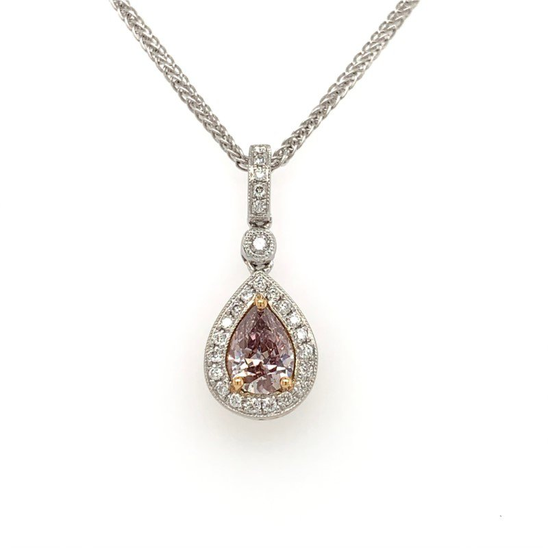 Moses Signature Pink Diamond Necklace