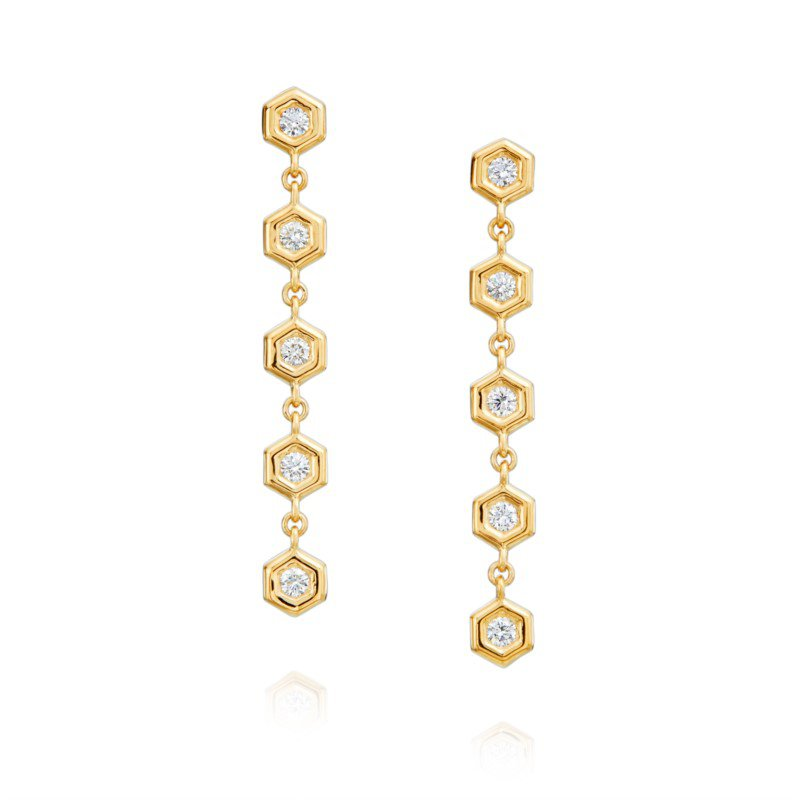 Gumuchian Mini B Dangle Earrings