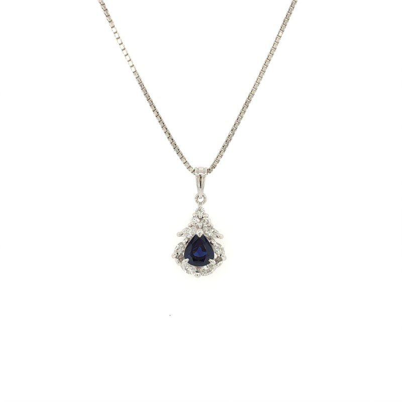 Signature Estate Sapphire Necklace