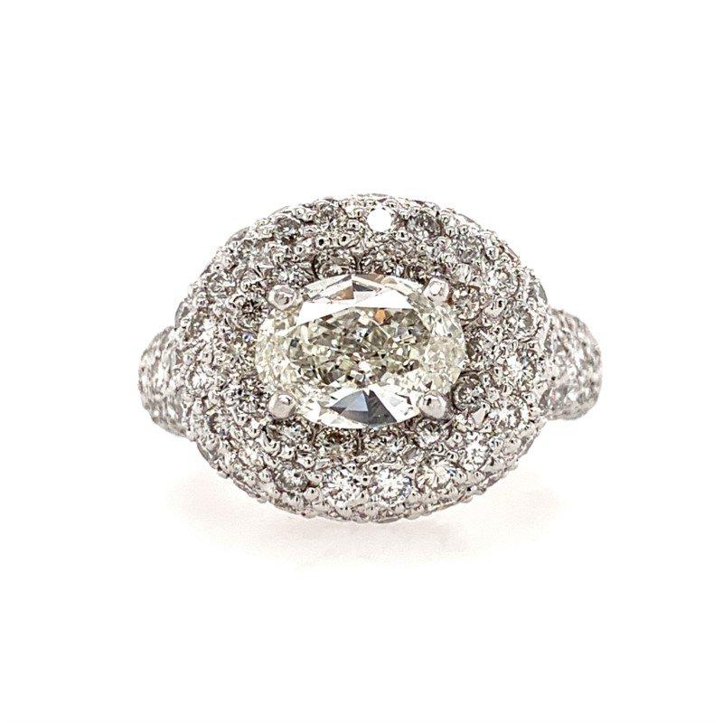 Signature Estate Oval Diamond Ring