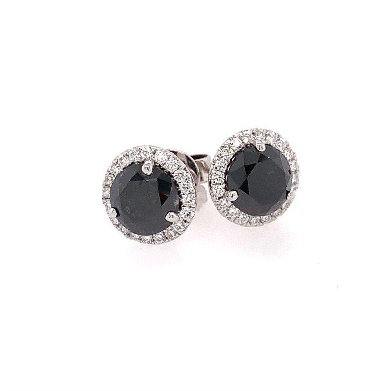 Moses Signature Black Diamond Earrings
