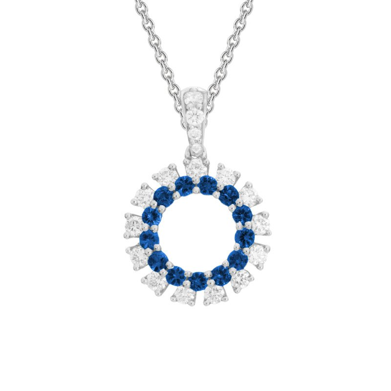 Wear-EVERY-Where Blue Sapphire Necklace