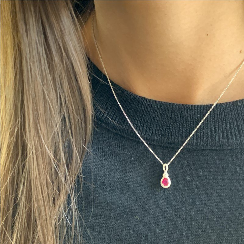 Wear-EVERY-Where Ruby Necklace