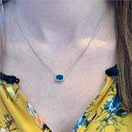 Wear-EVERY-Where London Blue Topaz Necklace