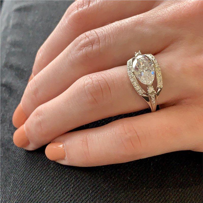 Signature Estate Mid Century Engagement Ring