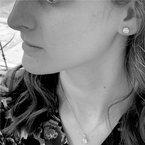 Wear-EVERY-Where Sterling Silver Sparkling Bezel-set Earrings