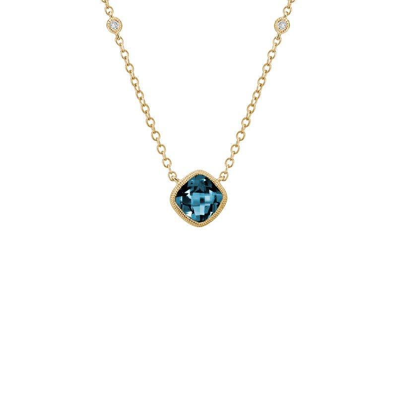 Wear-EVERY-Where London Blue Topaz Necklace