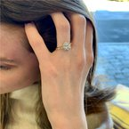 Moses Signature Oval Engagement Ring