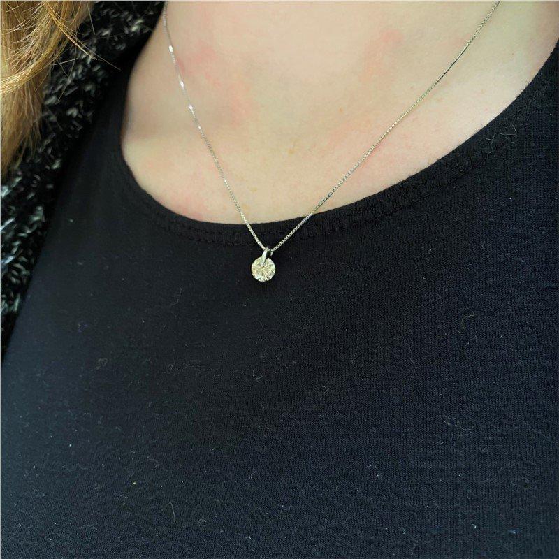 Signature Estate Faint Brown Diamond Necklace