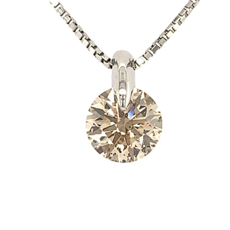 Signature Estate Faint Brown Diamond Necklace