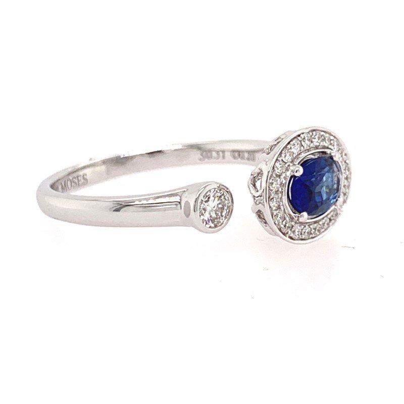 Moses Signature Sapphire Ring
