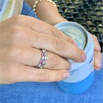 Wear-EVERY-Where Stackable Ruby Ring