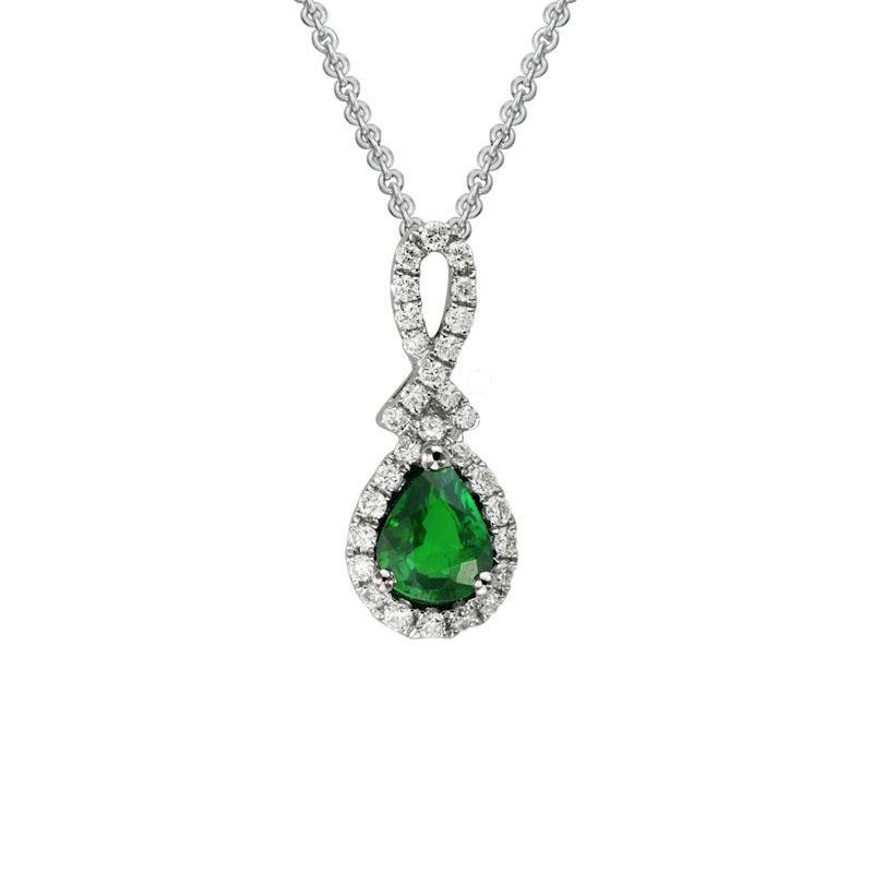 Wear-EVERY-Where Emerald Necklace
