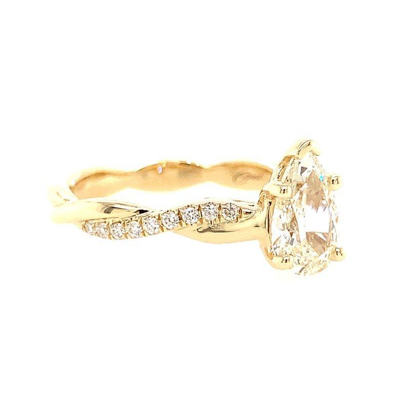Coast Diamond Engagement Ring