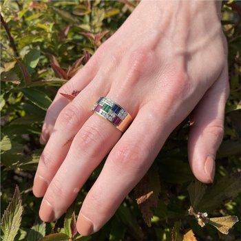 Multi- Gem Ring
