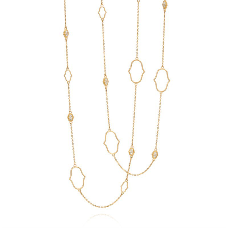 Gumuchian Secret Garden Diamond Necklace