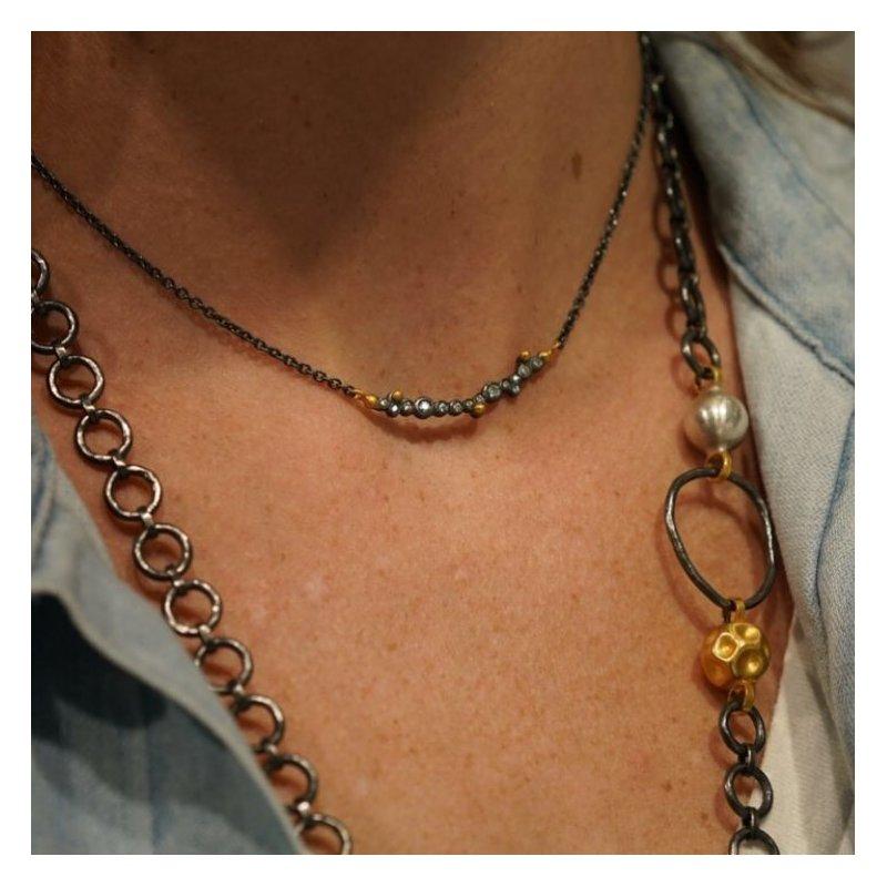 Lika Behar Dylan Bar Necklace