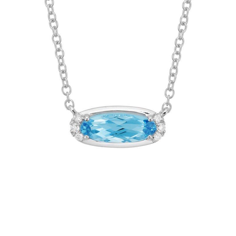 Wear-EVERY-Where Blue Topaz Necklace