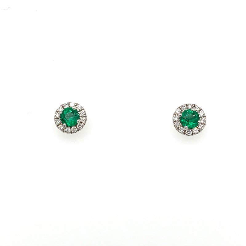 Coast Diamond Emerald Earrings