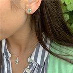 Coast Diamond Emerald Earrings