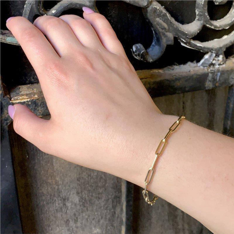 Wear-EVERY-Where Paperclip Bracelet
