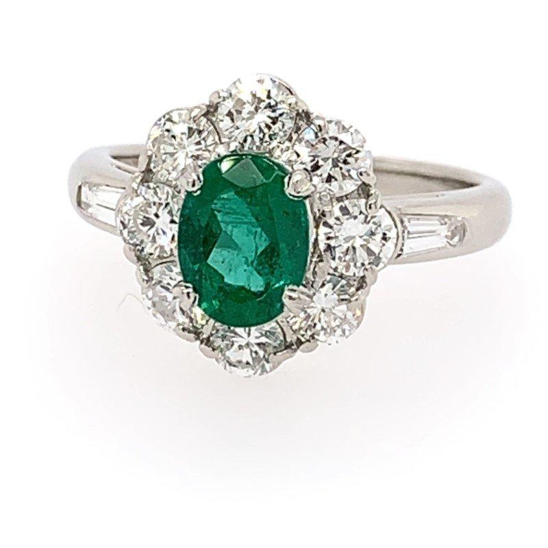 Signature Estate Emerald Ring