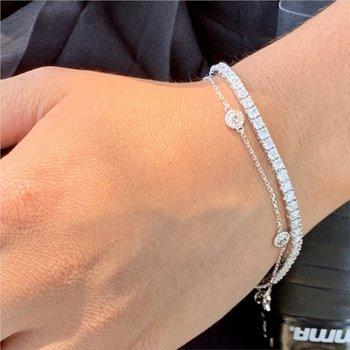 Diamond Station Bracelet