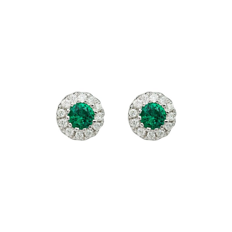 Wear-EVERY-Where Emerald Earrings