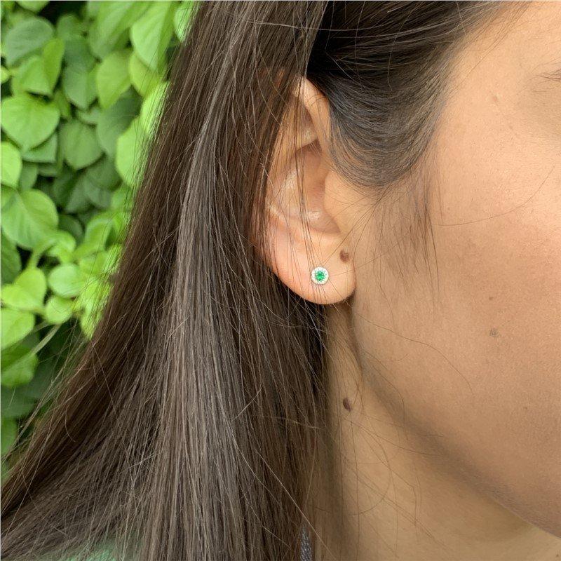Wear-EVERY-Where Emerald Earrings