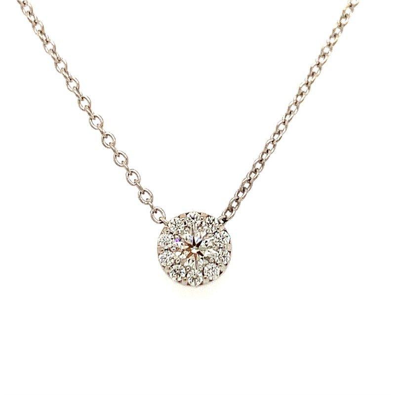 Signature Estate Hearts On Fire Diamond Necklace