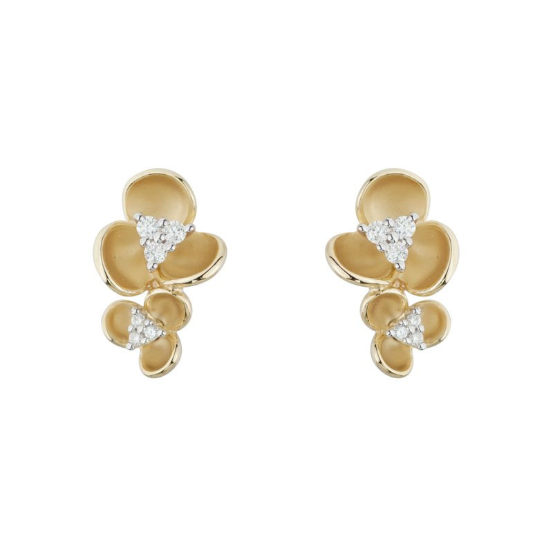 Wear-EVERY-Where Double Flower Earrings