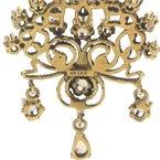 Antique ANTIQUE ART NOUVEAU DESIGN 14K YELLOW GOLD ROUND CABOCHON OPAL PENDANT #JB39-3