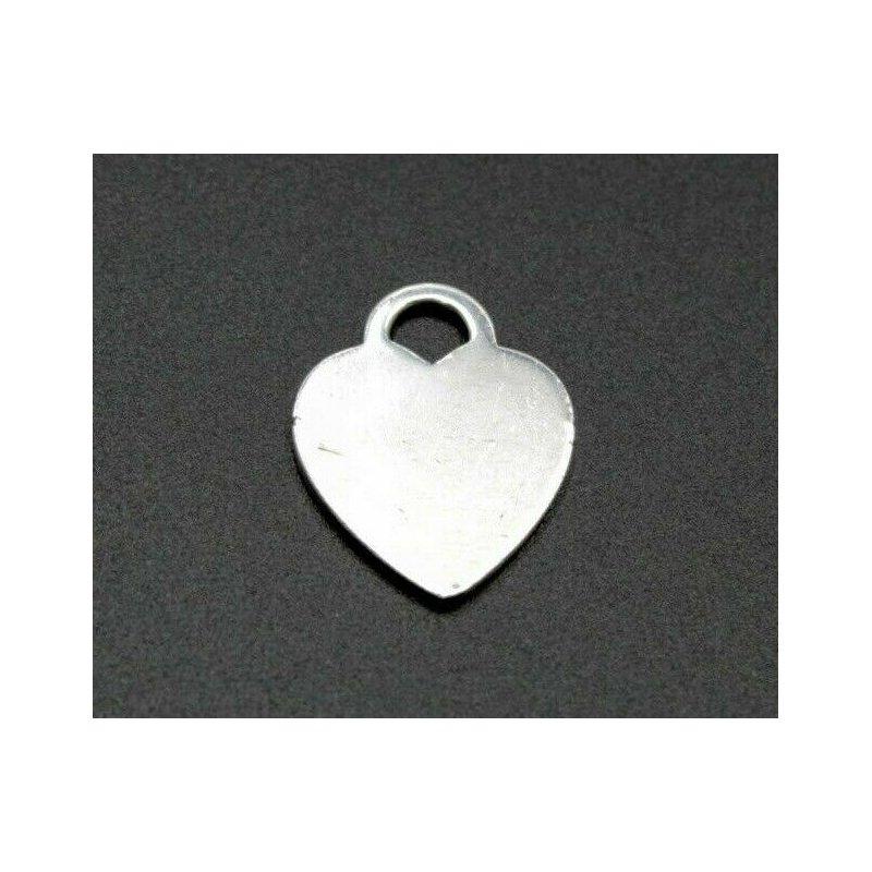 Tiffany Co TIFFANY & CO RETURN TO TIFFANY HEART TAG CHARM STERLING SILVER CLASSIC 1052B-8