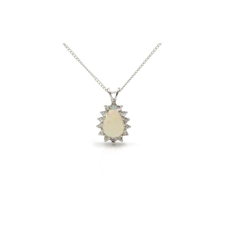 National Rarities RARE 14K WHITE GOLD CHROME DIOPSIDE OVAL RING PAVE SET DIAMOND 1.92 CTW 1105B-10