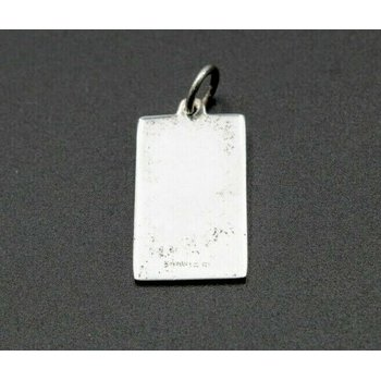 TIFFANY & CO PASSPORT CHARM PENDANT STERLING SILVER 925 VINTAGE DESIGNER 1052B-9