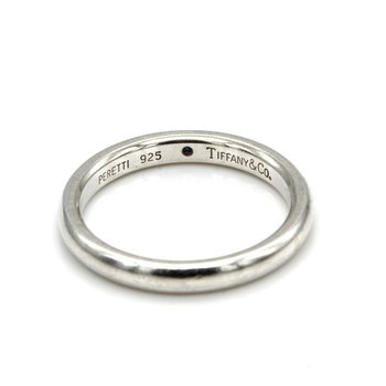 TIFFANY & CO STERLING ELSA PERETTI SAPPHIRE STACKING BAND SIZE 6.5 #1019B-2