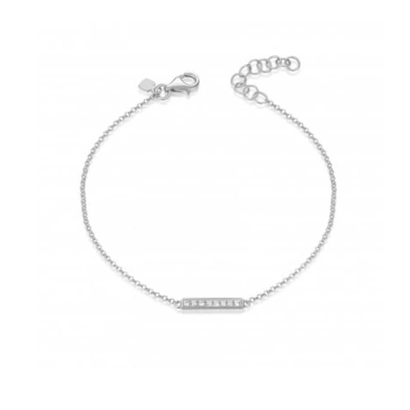 Continental Collection Diamond Bar Bracelet