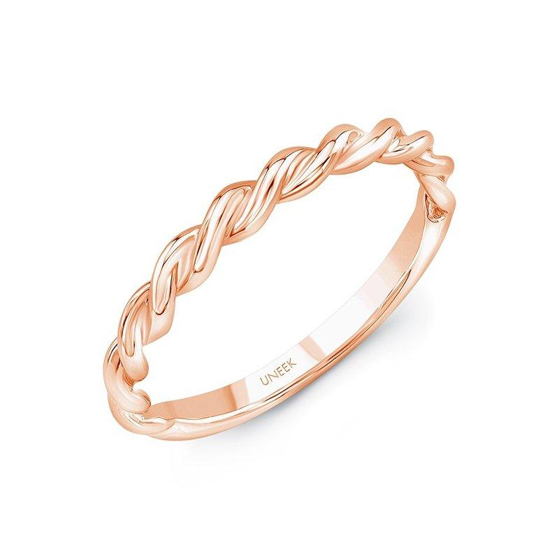 Uneek Fine Jewelry Not Quite Plain Band