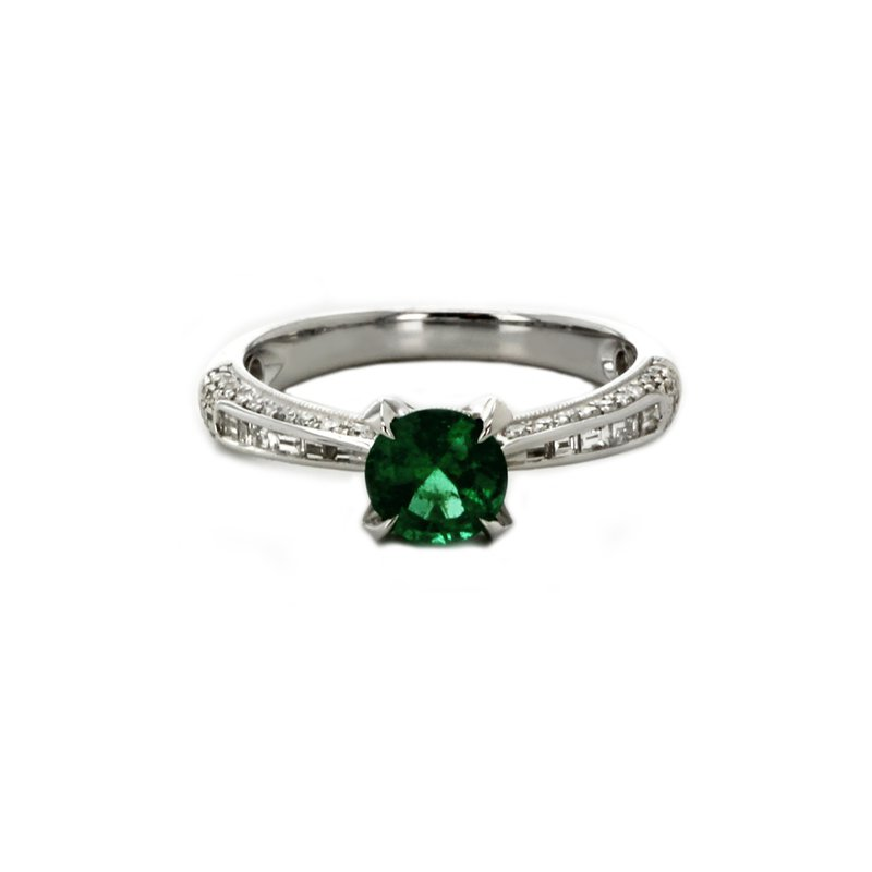 Continental Collection Emerald & Diamond Ring