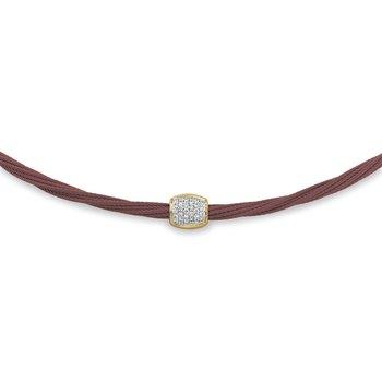 0.14 ctw Diamond Collar Necklace