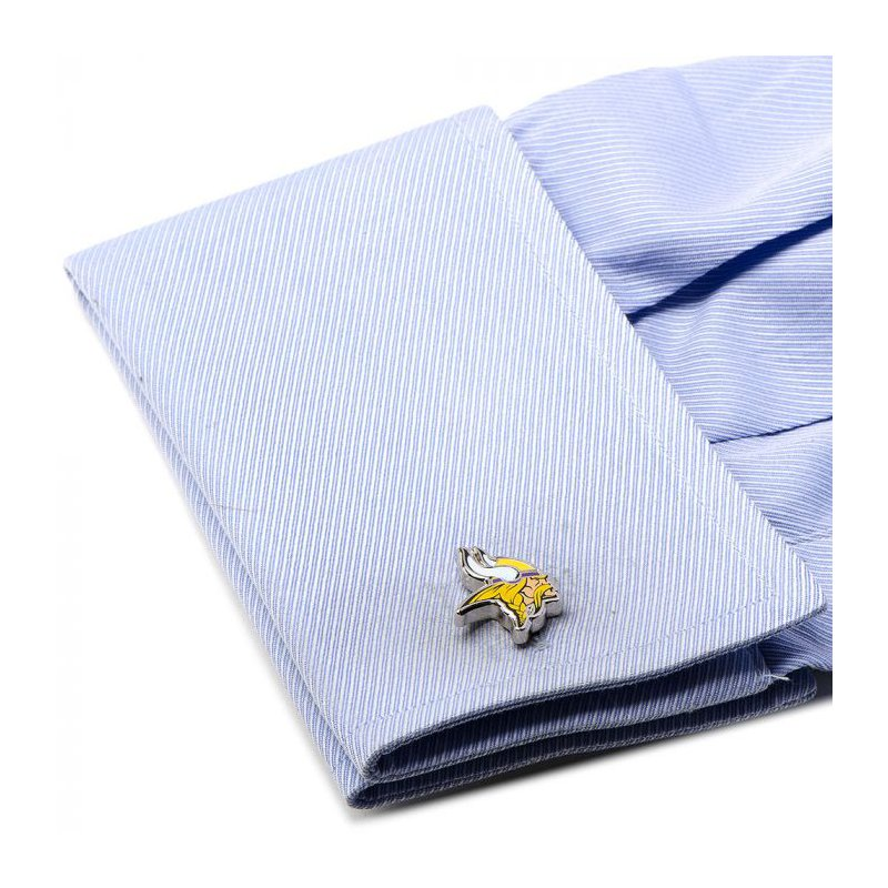 Continental Collection Silver Plated Cuff Links