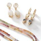 Nina Nguyen Designs Moonstone & Diamond Drop Jackets