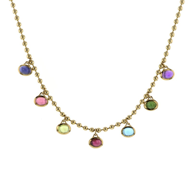 Continental Collection Multi-Color Tourmaline Necklace