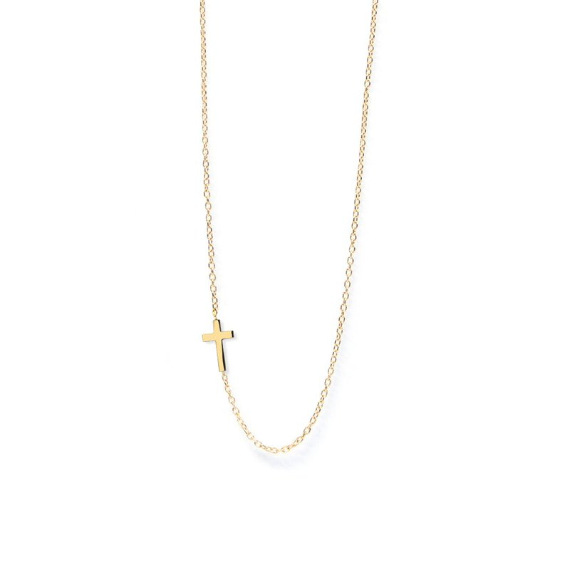Anzie Small Cross Necklace