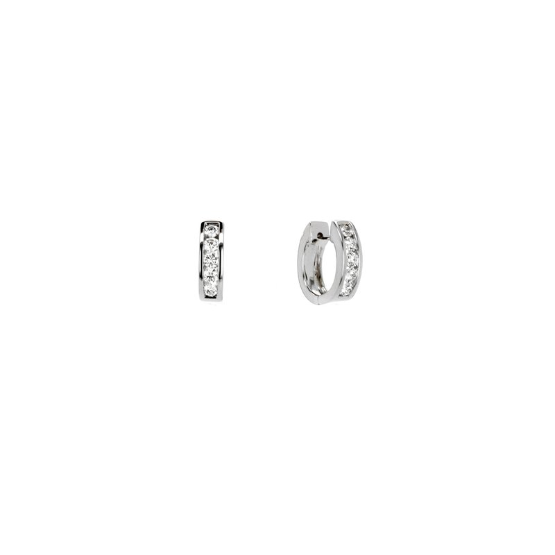 Continental Collection Diamond Huggie Earrings