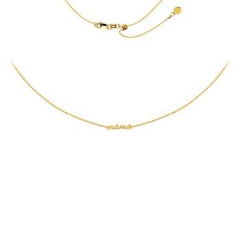 Mama Collar/Choker Necklace