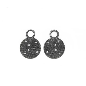 FLORENTINE ROUND 16MM EARRING JACKETS