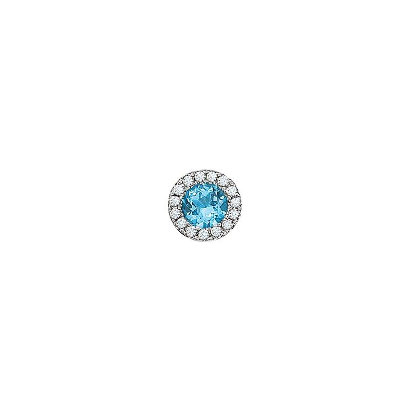 Continental Collection Blue Topaz (December Birthstone)